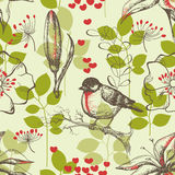 Vintage seamless pattern Royalty Free Stock Image