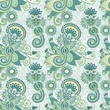 Vintage seamless pattern Stock Photo
