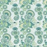 Vintage seamless pattern stock photo