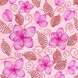 Vintage seamless pattern. Cute floral seamless pattern in vintage style Royalty Free Stock Photography