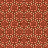 The vintage seamless pattern Royalty Free Stock Image