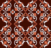 Vintage seamless pattern. Abstract background Stock Images