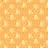 Vintage seamless pattern and background for web and mobile applications. In vector Royalty Free Stock Images