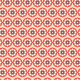 Vintage Seamless pattern  on beige background Royalty Free Stock Photo