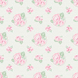 Vintage seamless pattern. Royalty Free Stock Photo