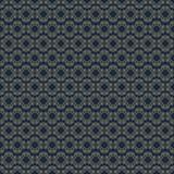 Vintage seamless pattern gold color line style on dark background for use wedding invitation stock illustration