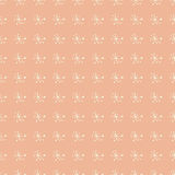 Vintage seamless pattern  hand drawn flowers Stock Photography