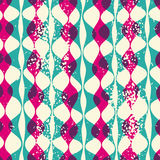Vintage seamless pattern hipsters Royalty Free Stock Photos