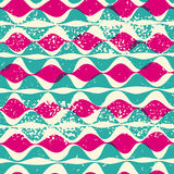 Vintage seamless pattern hipsters Stock Photography