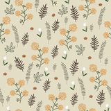 Vintage seamless pattern Royalty Free Stock Images