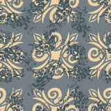Vintage seamless pattern. Old Royal ornament. Retro background. Royalty Free Stock Photography