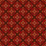 Vintage seamless pattern with ornamental, arabesque Royalty Free Stock Images