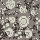 Vintage seamless pattern for retro wallpapers stock image
