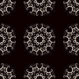 Vintage seamless pattern stock illustration