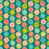 Vintage Seamless Pattern With Small Flowers Royalty Free Stock Images