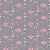 Vintage seamless pattern Stock Photography
