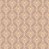 Vintage seamless pattern Stock Photos