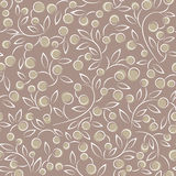Vintage seamless pattern vector Royalty Free Stock Images