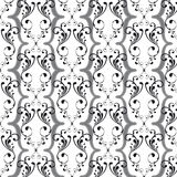 Vintage Seamless Pattern (Vector) royalty free stock photos