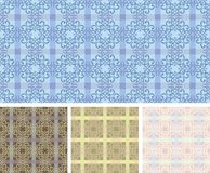 Vintage seamless pattern / vector background Royalty Free Stock Images