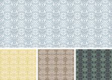 Vintage seamless pattern / vector background Stock Photo