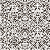 Vintage seamless pattern on white background Stock Image