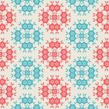 Vintage Seamless pattern  on white background Stock Photos
