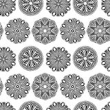 Vintage seamless pattern for your design Stock Images