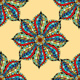 Vintage Seamless patterns. Royalty Free Stock Image