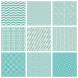 Vintage seamless patterns Stock Image