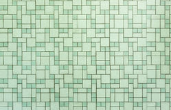 Vintage seamless 1950s bathroom tile background Stock Photography