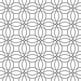 Vintage seamless texture. Decor for wallpaper. Traditional decor on black background. Illustration Royalty Free Stock Photo