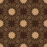 Vintage seamless vector pattern. Hand drawn Stock Images