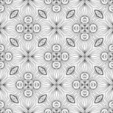 Vintage Seamless Vector Wallpaper Royalty Free Stock Photos