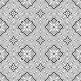 Vintage Seamless Vector Wallpaper. Vector Black White Seamless Wallpaper. Vintage Pattern. Retro Background Royalty Free Illustration