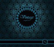 Vintage seamless wallpaper Royalty Free Stock Image