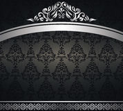 Vintage seamless wallpaper Stock Photography