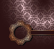 Vintage seamless wallpaper Stock Photos