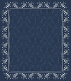 Vintage seamless wallpaper with abstract pattern Royalty Free Stock Images