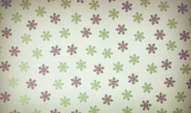 Vintage seamless wallpaper pattern Stock Photography