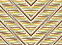 Vintage seamless zigzag strokes Royalty Free Stock Images
