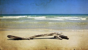 Vintage seascape Royalty Free Stock Images