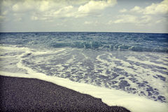 Vintage seascape Royalty Free Stock Photo