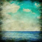 Vintage seascape Stock Images