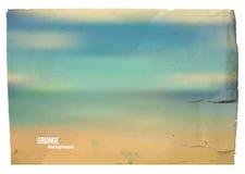 Vintage seascape Stock Image