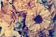 Vintage secado de las flores Imagenes de archivo