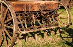 Vintage Seed Sower Royalty Free Stock Image