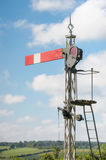 Vintage semaphore signal Stock Photo