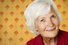 Vintage senior woman Royalty Free Stock Photo