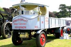 Vintage 1928 Sentinel steam wagon. Royalty Free Stock Photo